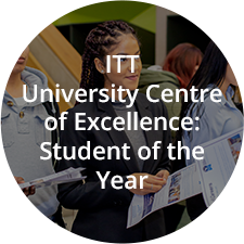 ITT University Centre of Excellence: Student of the Year