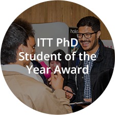 ITT PhD Student of the Year Award